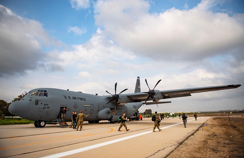 סיום תרגיל ג'וניפר פאלקון (צילום: צבא ארה