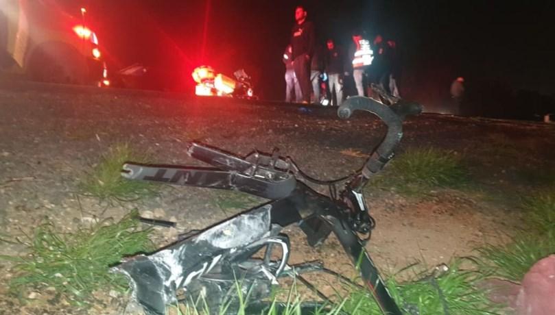 Авария на шоссе № 264. Фото: пресс-служба полиции