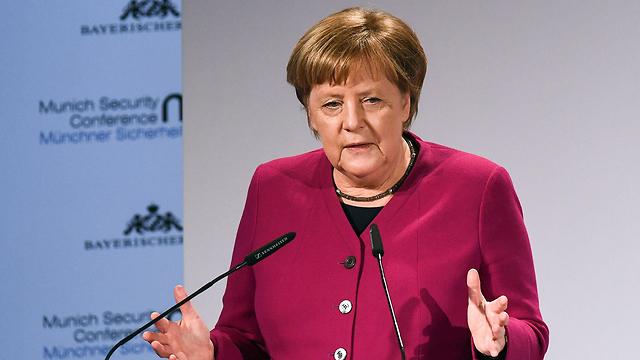 קנצלרית גרמניה אנגלה מרקל  (צילום: AFP)