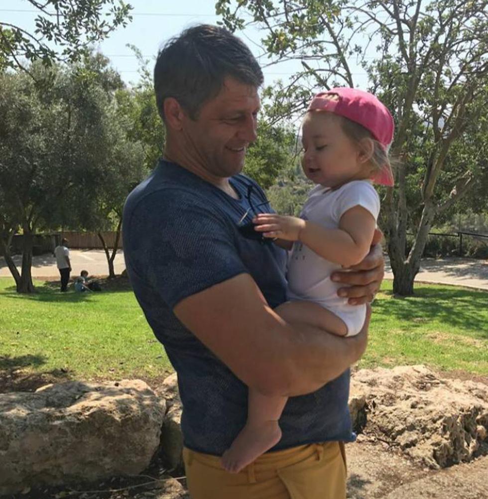 Юрий с дочкой