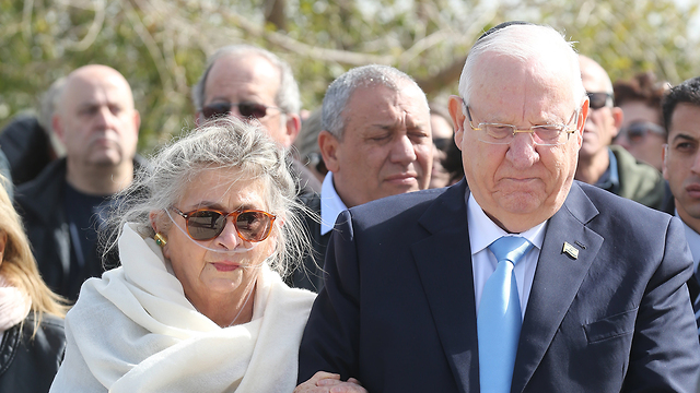 Reuven and Nechama Rivlin (Photo: Gadi Kablo)