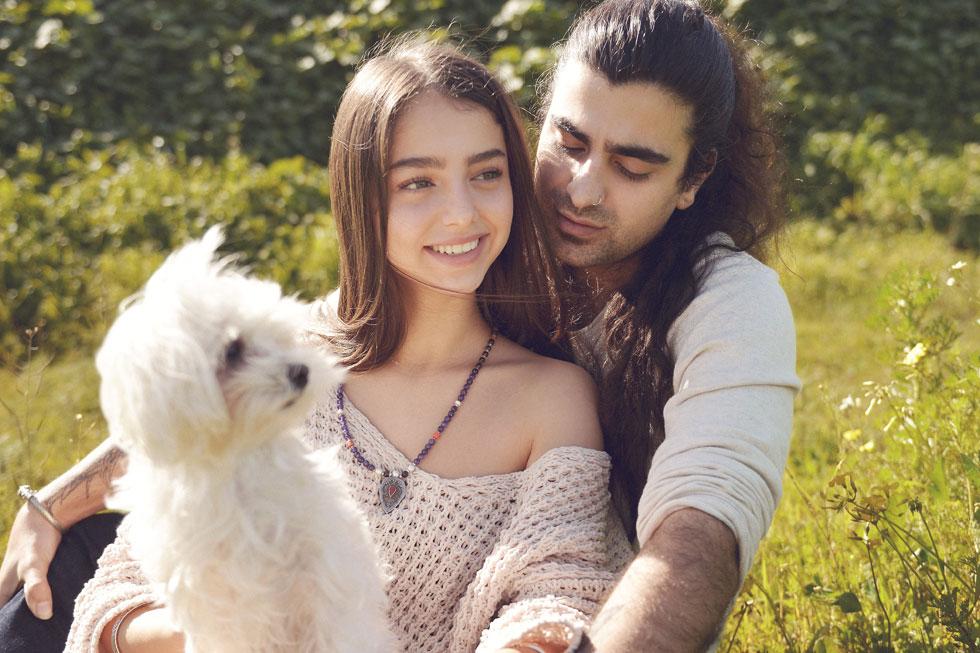 """""""ממי, התאהבת בי ממבט ראשון?"""" ניתן בן ארי ונועה כהן (צילום: ערן לוי)"""