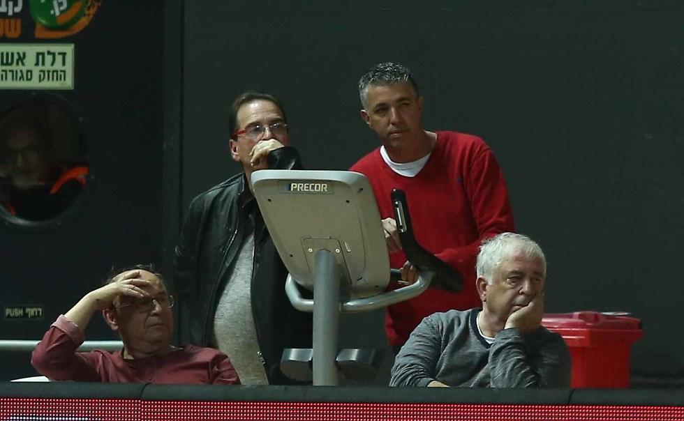 רמי כהן לצד ידידיה רפפורט (צילום: ראובן שוורץ)