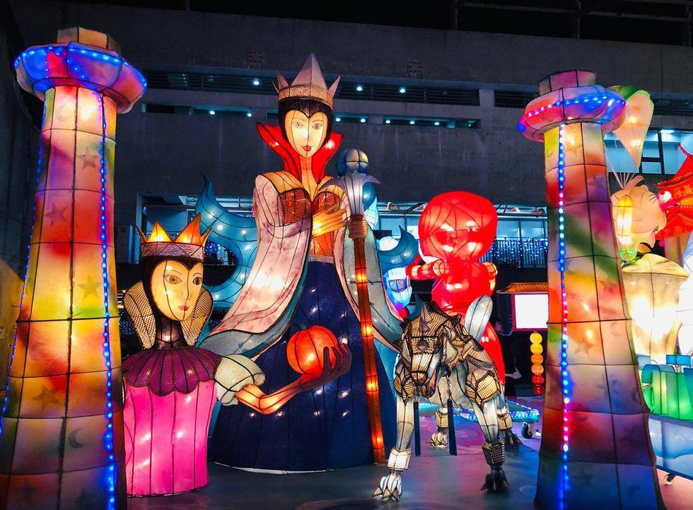 פסטיבל הפנסים, טייוואן (צילום: תיקי גולן)