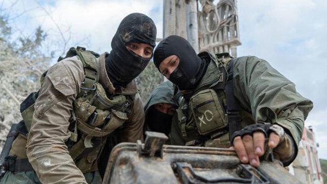 Спецназ в новой экипировке. Фото: пресс-служба ЦАХАЛа