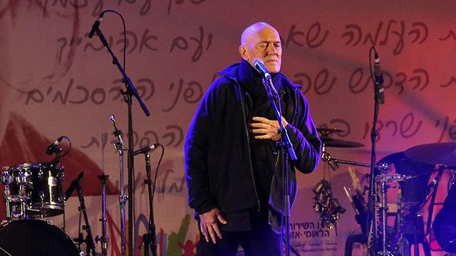 אירוע לזכרה של אורי אנסבכר (צילום: עמית שאבי)