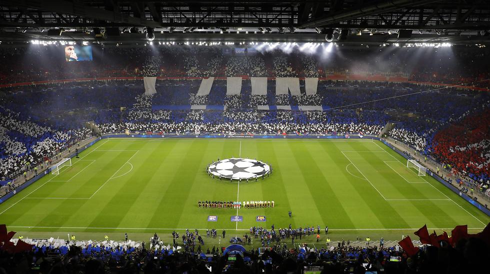 האצטדיון בליון (צילום: EPA)