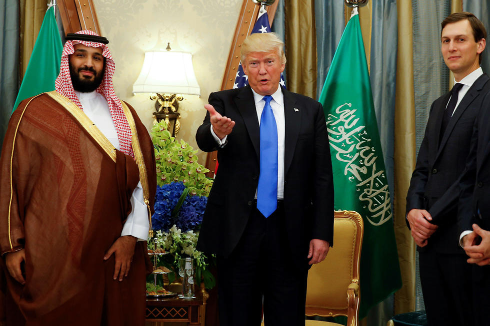 Mohammed bin Salman, Donald Trump and Jared Kushner (Photo: Reuters)