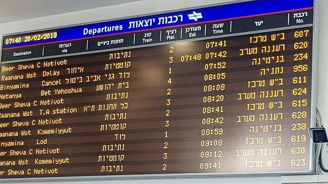 עומסים ברכבת ישראל ()
