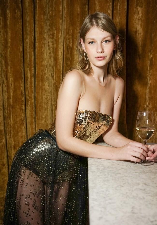 הסינדלרה של עולם האופנה. סופיה מ'צטנר (צילום: נדב יהלומי)