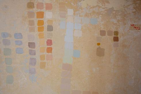 בוחרים צבעים (צילום: דור נבו)