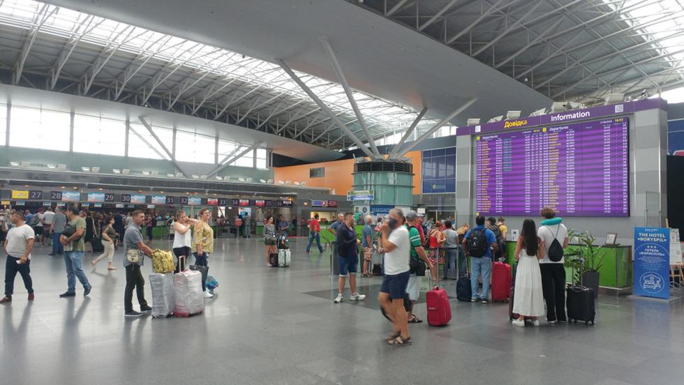 Аэропорт Борисполь (Киев, Украина). Фото: shutterstock