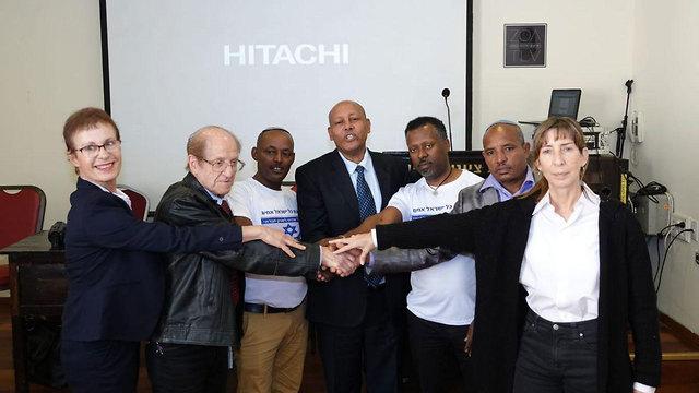 Братья-израильтяне. Фото: пресс-служба партии