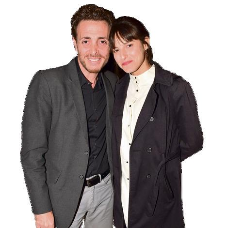 """עם אשתו, הדוגמנית גליה מלטסטה. """"רציתי מאוד להקים שוב בית ומשפחה"""""""