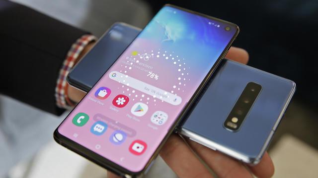 המכשירים החדשים של סמסונג (צילום: AP)