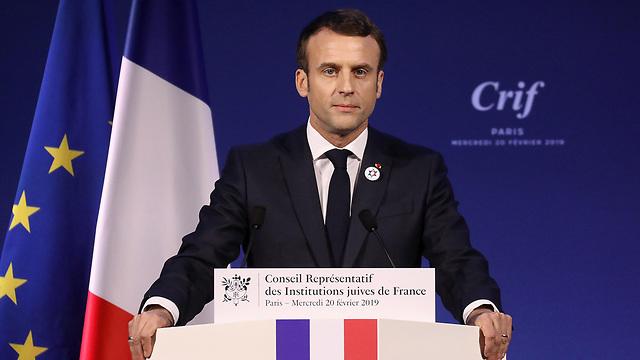 נשיא צרפת עמנואל מקרון  (Photo: EPA)