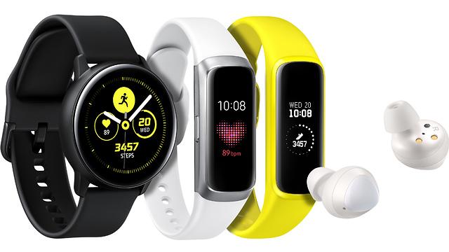 השעון החדש, הצמיד החדש והאוזניות החדשות של סמסונג (צילום: סמסונג)