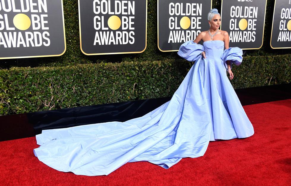 זכתה לכותרות גם בטקס גלובוס הזהב. ליידי גאגא (צילום: Frazer Harrison/GettyimagesIL)