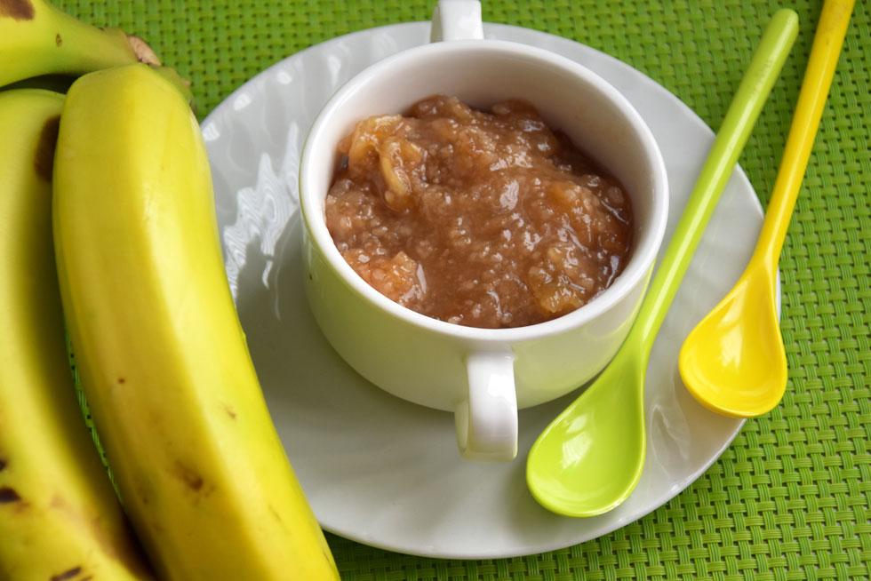ריבת בננות וקוקוס (צילום: דינה משה)