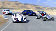 אורגזמה מוטורית - מסלול אחד, שני נהגים, ארבע מכוניות