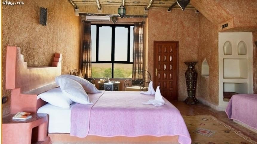 חדר במלון שבו ישנו (צילום: אורטל צבר)