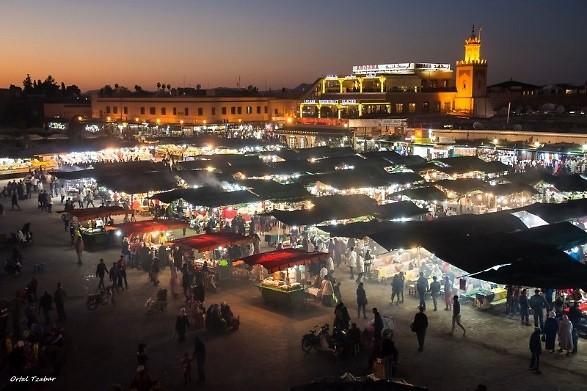 כיכר ג'אמע אל-פנא (צילום: אורטל צבר)