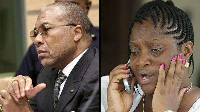 כתבת ג'ורג' וואה נשיא ליבריה סגנית ג'ואל הווארד טיילור הנשיא צ'רלס טיילור (צילום: רויטרס, AP)