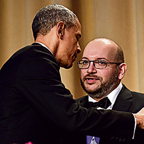 בפגישה עם אובמה. בבית הלבן הרגישו נקיפות מצפון