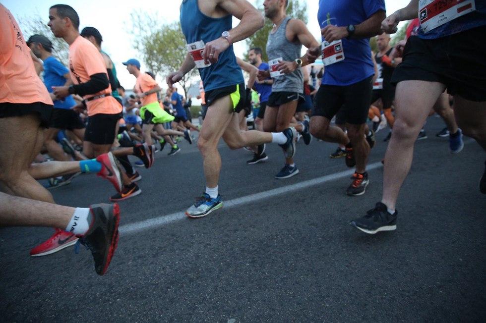 מרתון תל אביב (צילום: אורן אהרוני)