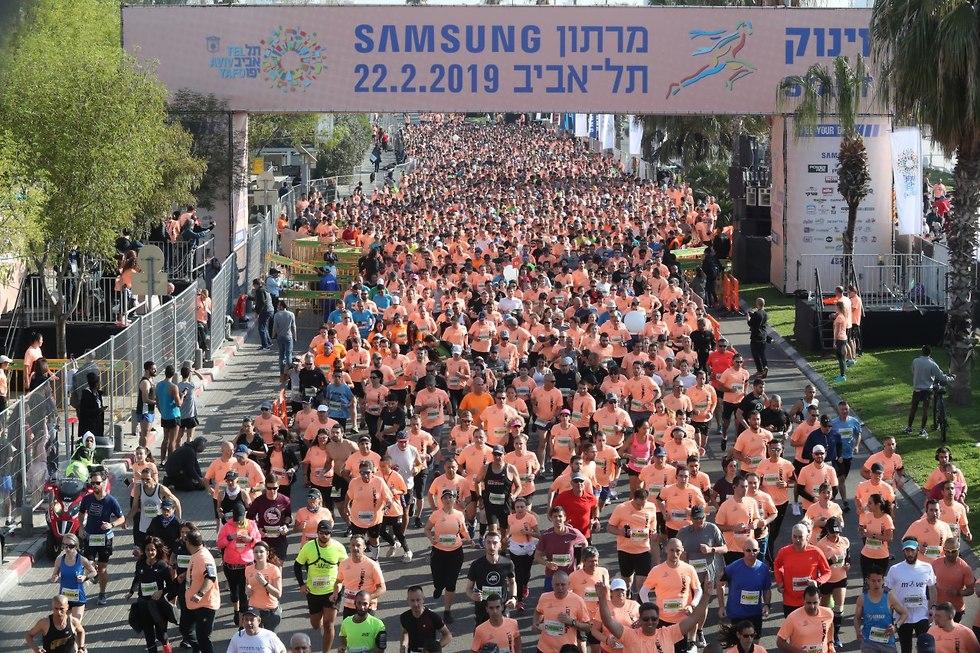 מרתון תל אביב 2019 (צילום: אורן אהרוני)