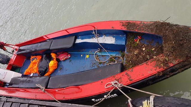 תאונת שיט בדרום צ'ילה (צילום:  Armada de Chile )