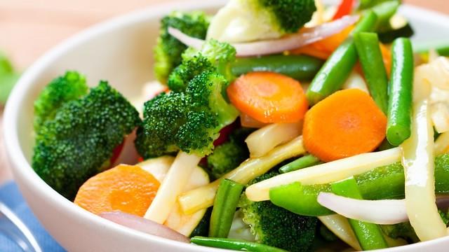 ירקות מבושלים (צילום: shutterstock)