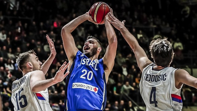 Израиль - Сербия. Фото: FIBA