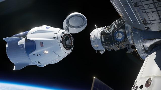 הדמיה של החללית (הדמיה: spacX)