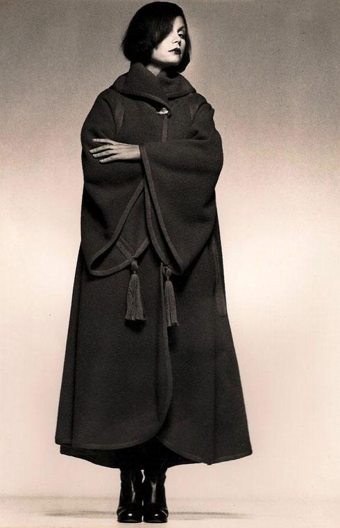 סמל של אופנה ישראלית. משכית (צילום: אוסף רות דיין , בן לם)