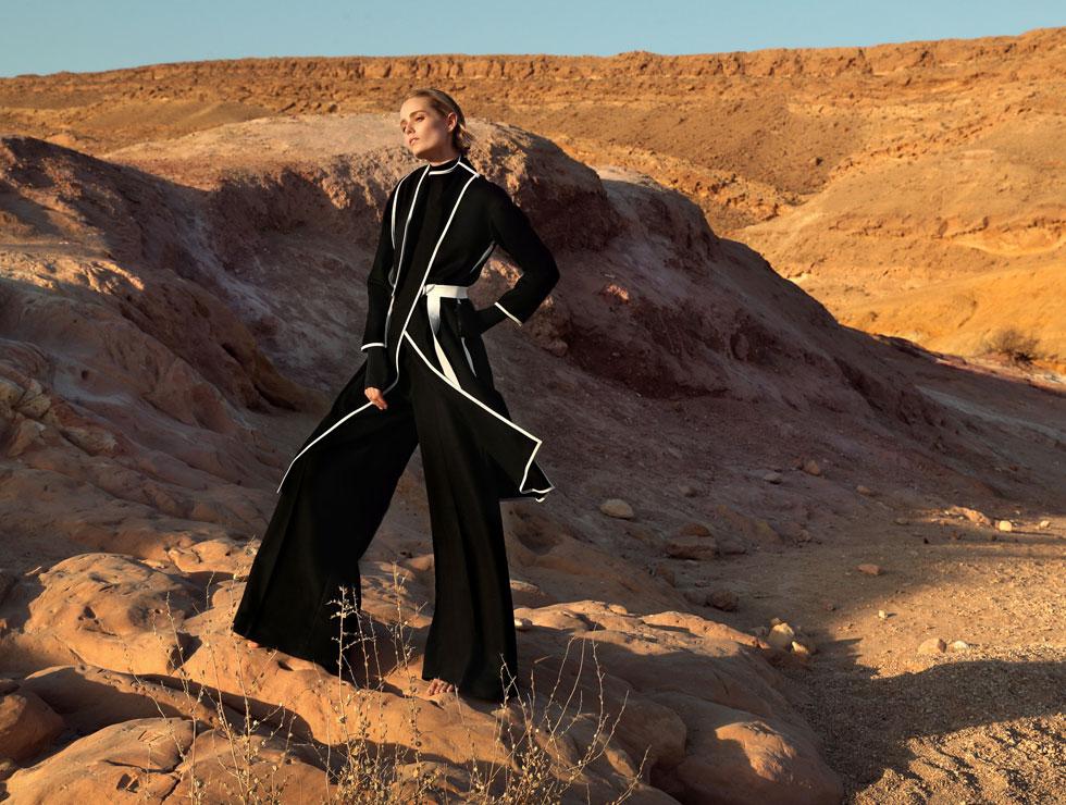 מחווה למותג האופנה האיקוני שחזר לחיים. משכית (צילום: אייל נבו)