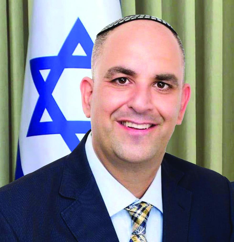 ראש העיר לוד, יאיר רביבו (צילום: דוברות עיריית לוד)