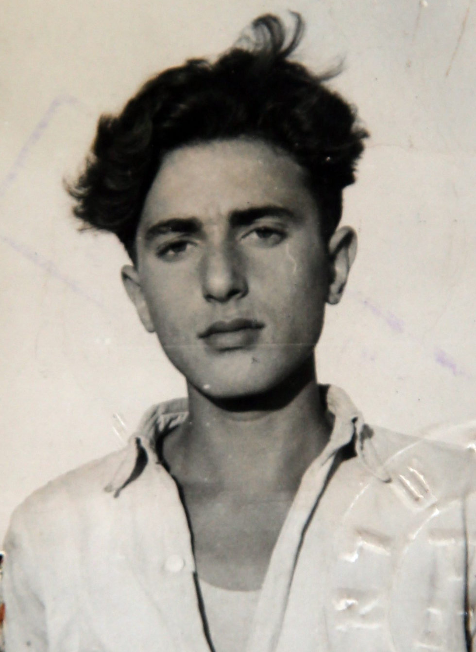 Levi Eden when he was a young man