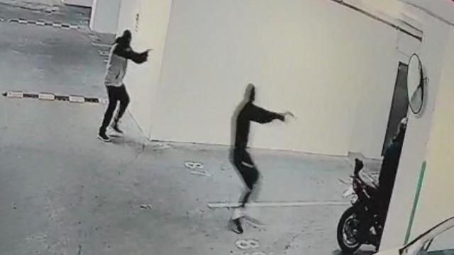 Footage from security camera