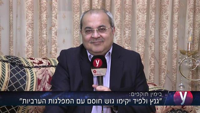 Ahmed Tibi (Photo: Eli Segal)