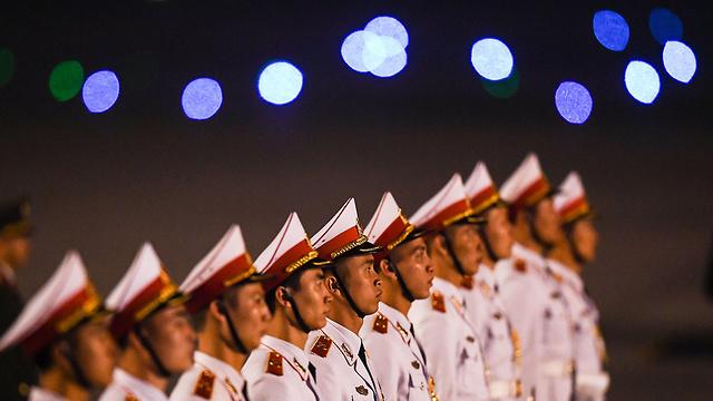 וייטנאם פסגה שליט צפון קוריאה קים ג'ונג און נשיא ארה