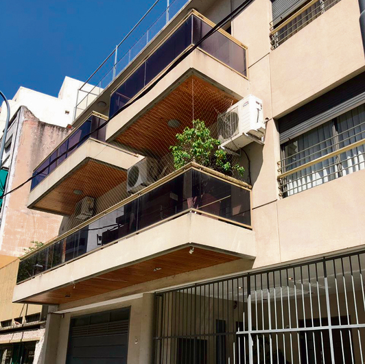 The rabbi's home in Buenos Aires
