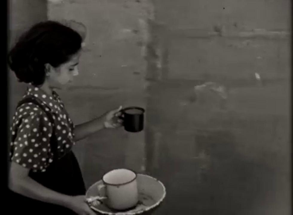 תושבי המעברות בשנות החמישים (צילום: באדיבות