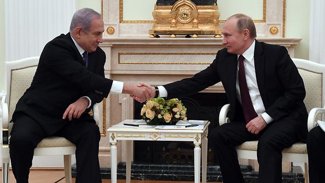Встреча Нетаниягу с Путиным в Москве. Фото: ЛААМ (Photo: GPO)