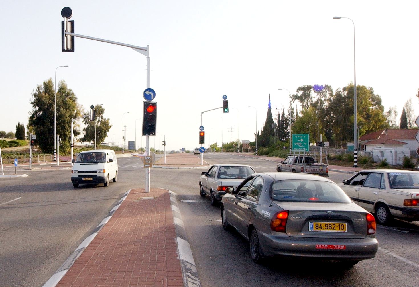 צומת יד מרדכי (צילום: גדי קבלו)