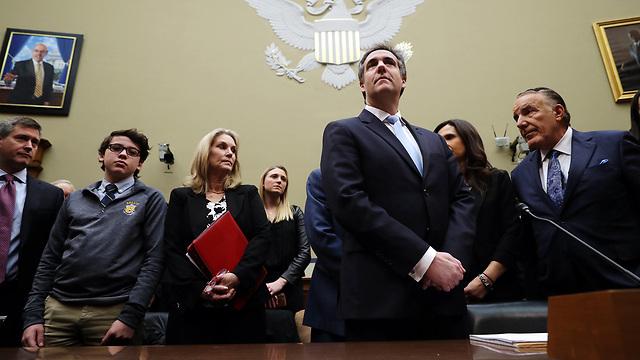 Cohen testifying in Washington (Photo: AFP)