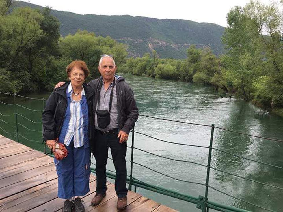 דליה רונן  ובעלה ()