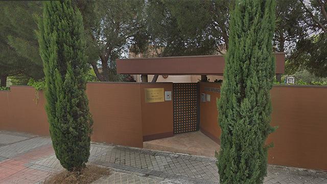 שגרירות צפון קוריאה ב מדריד (צילום: google maps)