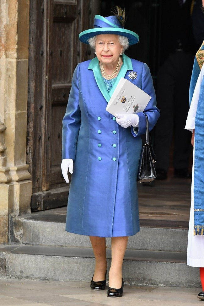 לא עוצרת. המלכה אליזבת' (צילום: Gettyimage)