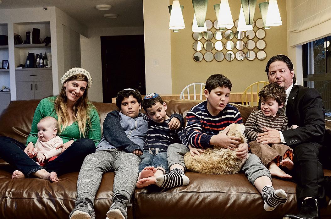 משפחת אינדיג (צילום: אסי חיים)
